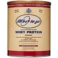 Solgar Whey To Go Proteína de suero en polvo (Sabor chocolate natural) ...