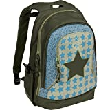 Lässig Mini Backpack Big Kinderrucksack Kindergartentasche,Starlight olive