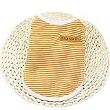 VêTements Pour Chien,Angelof VêTements Pour Chiens T-Shirt Veste à Rayures Habillement �Té (S, orange)