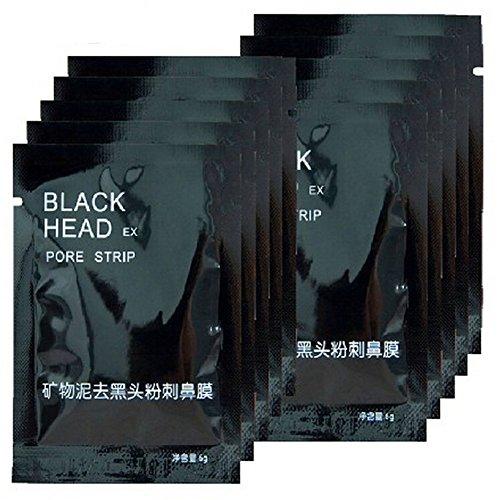 #10 pcs Mineral Mud Nase Blackhead Porenreinigung Reiniger Entfernen Membranen Strips Spots Mitesser Akne Peel Off Killer Maske Sparset Gesichtsmaske#