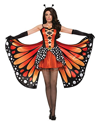 Forum Novelties 78464 Miss Monarch Schmetterling Kostüm (Größe UK 10–12) (Womens Butterfly Halloween Kostüme)