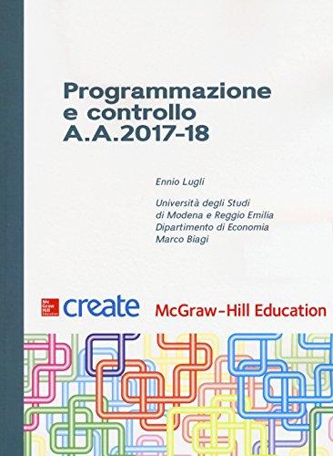 Programmazione e controllo A. A. 2017-18