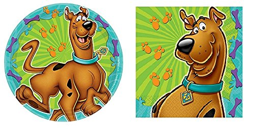 Scooby-Doo Where Are You! Dessert Plates and Napkins by Scooby-Doo Party ()
