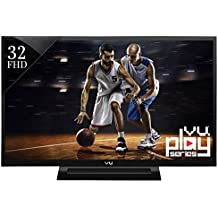 VU 81 cm (32 inches) VU32D6545 Full HD LED TV (Black)