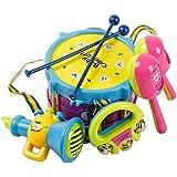 Yacool® Bebé niño niña tambor conjunto niños instrumentos musicales tambor set Set regalo juguete de los niños -1
