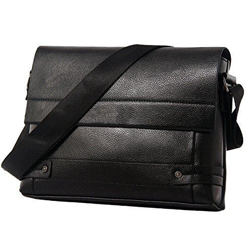 Yy.f Uomini Bag Borsa A Tracolla Gli Uomini Borsa Sezione Trasversale Il Sacchetto Di Uomo Daffari La Moda Di Pratica Confezione Esterna Interna Solido Black