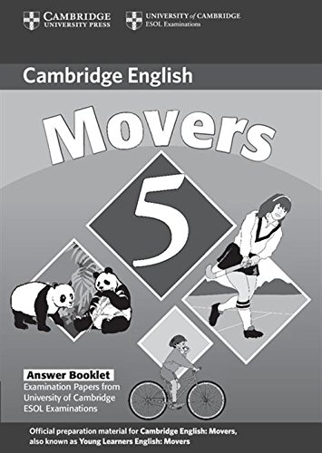 Cambridge Young Learners English Tests Movers 5 Answer Booklet: Examination Papers from the University of Cambridge ESOL Examinations: No. 5