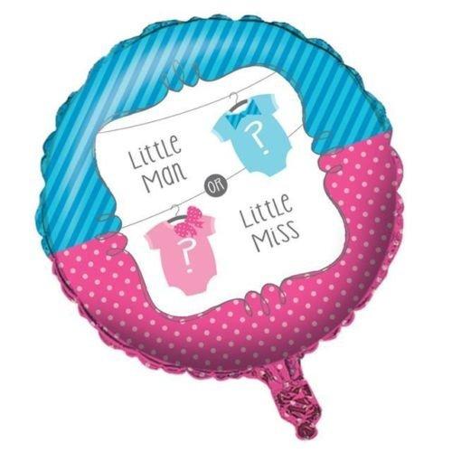 Geschlecht Bekanntgeben Baby Dusche - Bogen oder Bowtie 45.7cm Folien Ballon