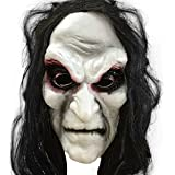 Halloween de las mujeres blancas del pelo m¨¢scaras de fiesta de Halloween de la m¨¢scara de la manera blanca