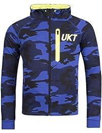 Sweat à capuche Unkut Raid Bleu
