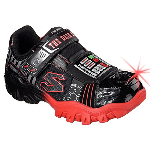 "Skechers Star Wars Jungen ""Dark Side Force"" Tricks Sneakers schwarz/red"