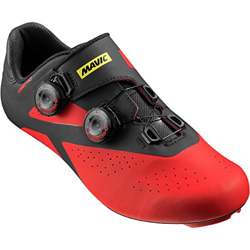 Mavic SHOES Cosmic Pro BLACK/FIERY RED/BLACK Rosso