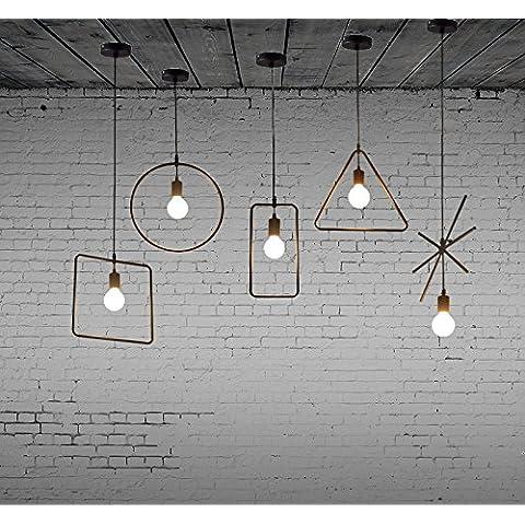 FEI&S Vintage americano moderno minimalista di illuminazione lampadari lampade Ristorante
