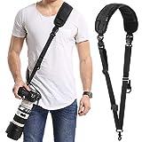 Camera Strap, waka Camera Strap,Soft Neoprene Camera Shoulder Neck Strap with Quick Release