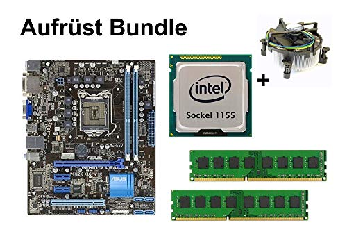 Aufrüst Bundle - ASUS P8H61-M LE/USB3 + Intel Core i3-3245 + 16GB RAM