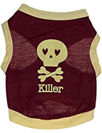SAMGU Pupply Gilet Sans Manche En Chien T-Shirts Vetements Costumes pour Petit Chien Chat Chiot