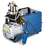HUKOER High Pressure System Rifle Air Pump Adjustable Auto-Stop Electric Air Compressor