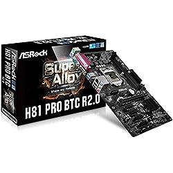 Asrock H81 Pro BTC R2.0 Carte mère Intel h81 Socket lga 1150 (Emplacement h3)