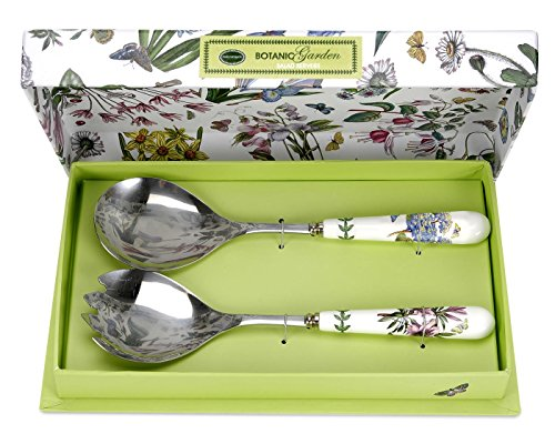Portmeirion Botanic Garden Salad Server Set -