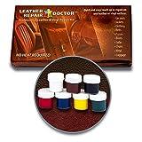 Kit de reparación de piel: 7, color no-heat, secado rápido, solución de piel y reparador de...