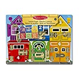 Picture Of Melissa & Doug Latches Wooden Activity Board