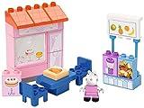 PlayBIG Bloxx - Peppa Wutz - Kuchenladen - Spielset mit Peppa Pig Spielfigur, kompatibel mit...