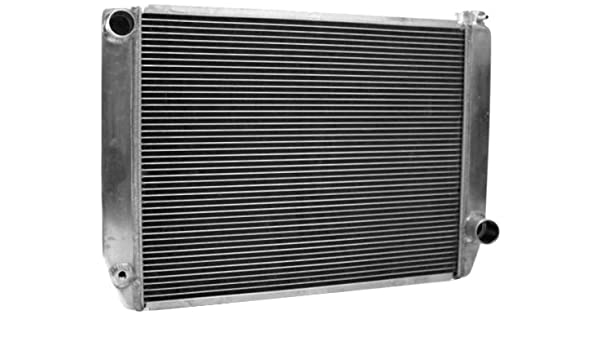 Griffin Radiator 1-55242-XS MaxCool 27.5 x 19 2-Row Aluminum Race Radiator with 1.25 Tube