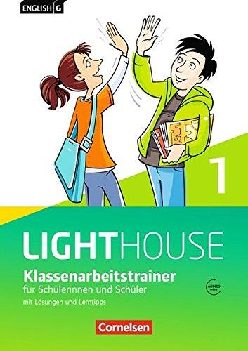 English G Lighthouse - Allgemeine Ausgabe / Band 1: 5. Schuljahr - Klassenarbeitstrainer mit Lösungen und Audio-Materialien