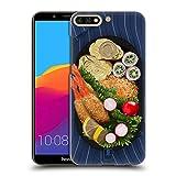 Head Case Designs Tempura Teller Orientalische Nahrung Ruckseite Hülle für Huawei Honor 7C / Enjoy 8