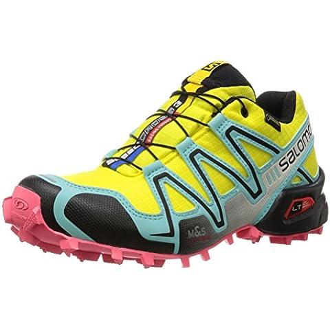 Salomon Speedcross 3 Gtx, Zapatillas de Trail Running Para Mujer