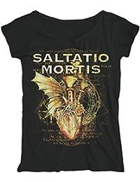 SALTATIO MORTIS - Pipe Heart - Loose Fit - GIRLIE - Shirt