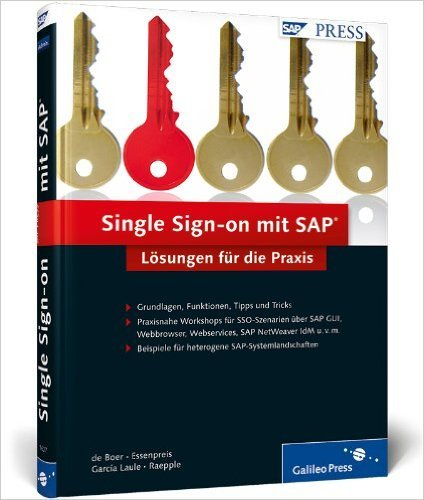 Single Sign-on mit SAP: Lšsungen fŸr die Praxis (SAP PRESS) ( 28. Oktober 2010 )