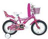 Umit J1451 Bicicleta Infantil, Niñas, Rosa, 14'