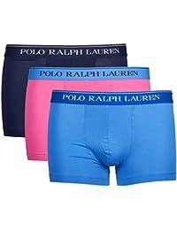 Ralph Lauren - Lot de trois boxers pour hommes Polo Ralph Lauren Classic Trunk 3 Pack Marine / Anglais Vert / B Po