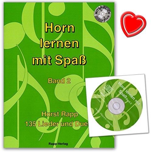 Hush Band (Horn lernen mit Spaß Band 2 von Horst Rapp - Serie ... lernen mit Spaß - 135 Liedern, Musikstücken, Duetten - mit CD und bunter herzförmiger Notenklammer)