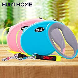 Generic Pink, 3m : Pet Dog Belts 3m/4m Automatic Retractable Dog Leash Pets Supplies For Small Breeds Dogs Cats ENA003