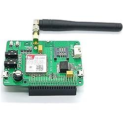 DIYMall Itead Raspberry Pi SIM800 GSM/GPRS Add-on V 2.0 - Computadora de placa reducida