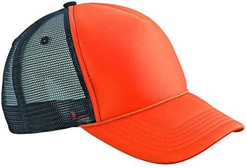 MB CAPS - Casquette de Baseball - Homme Multicolore Orange / Black