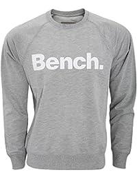 Bench - Jersey de manga larga con cuello redondo modelo Introvert para hombre