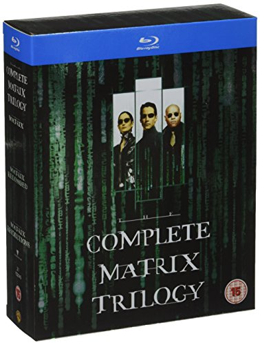 Bild von The Matrix Trilogy (The Matrix, Matrix Revolutions, Matrix Reloaded) [Blu-ray] [UK Import]