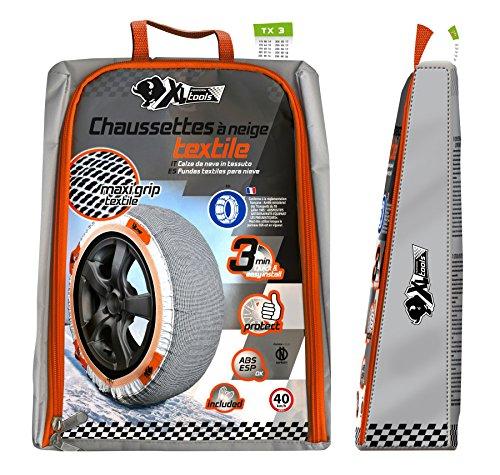 Impex XL Perform Tool 450453 Chaussettes à Neige Textile