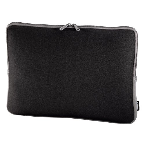 Hama Neoprene Netbook hülle bis 26 cm (10,2 Zoll) schwarz/grau