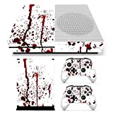 Seasiant India Bloody Skin Decals Stickers Cover for Xbox One S Game Console & 2 Controllers Single Item.
