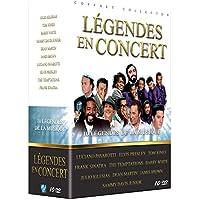 Légendes en concert : Luciano Pavarotti + Elvis Presley + Tom Jones + Frank Sinatra + The Temptations + Barry White + Julio Iglesias + Dean Martin + James Brown + Sammy Davis Jr.