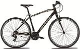 28 Zoll Montana X-Cross Herren Mountainbike Aluminium 21 Gang, Farbe:schwarz, Rahmengröße:54cm