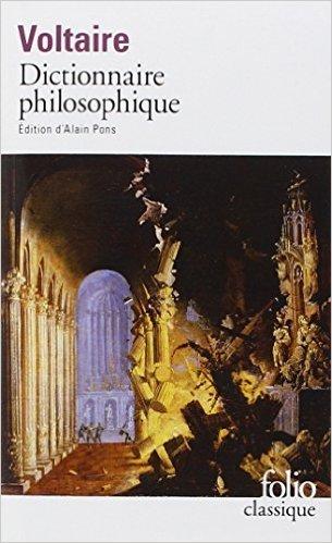 Dictionnaire philosophique de Voltaire,Alain Pons (Préface) ( 24 novembre 1994 )
