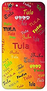 Tula (balance, a zodiac sign) Name & Sign Printed All over customize & Personalized!! Protective back cover for your Smart Phone : Samsung Galaxy S6 Edge