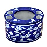 #10: The Himalaya Craft Blue Pottery Cermic Tooth Brush Holder
