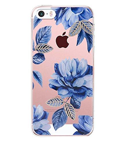 iPhone SE Hülle, Liquid Crystal Hülle iPhone 5 Silikon hülle TPU Case Ultra Slim Cover Weich TPU Bumper Schutzhülle für Apple iPhone 5S Case Cover (iPhone SE/iPhone 5S / iPhone 5 4.0