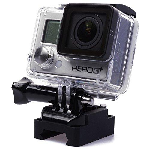 Neue 20mm Picatinny Weaver Gun -Schienen-Montage für GoPro Hero 2 3 3 + 4 SJ4000 SJ5000 Kamera OS106